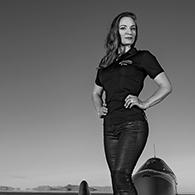Eva Häkansson, die schnellste Frau der Welt