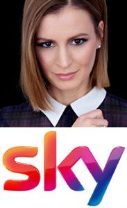 Karolin Kandler, Nachrichtensprecherin bei Sky Sport News HD