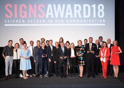 Preisträger SignsAward 2018
