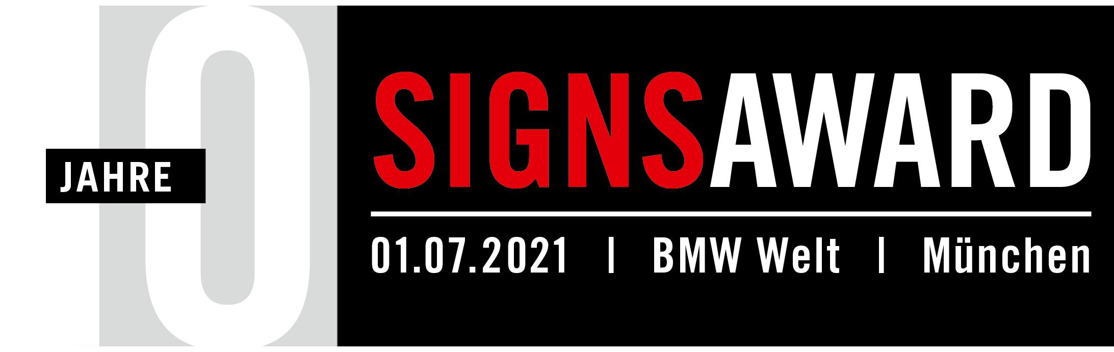 SignsAward 2021